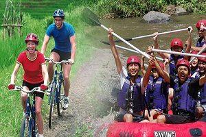 Cycling + Rafting@baliraftingmurah.com