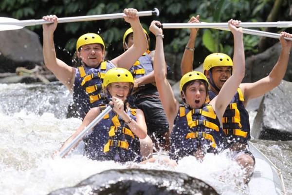 Ayung Rafting Bersama Bali Adventure