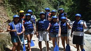 Ayung Rafting Bersama My Adventure Rafting@baliraftingmurah.com
