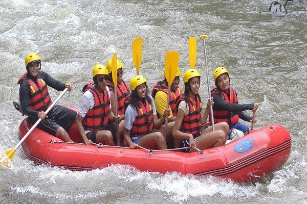 Ayung Rafting Bersama Payung Rafting