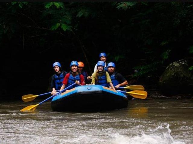 Ayung Rafting Bersama Sobek Rafting