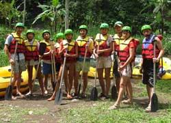 Telaga Waja Rafting bersama Lapama Rafting