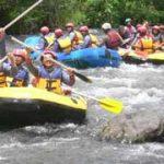 Telaga Waja Rafting bersama Lapama Rafting2