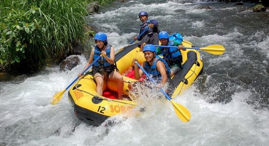 Telaga Waja Rafting bersama Sobek Rafting