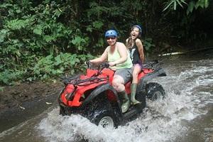 Nikmati Aktivitas ATV + Rafting di Ubud Bali