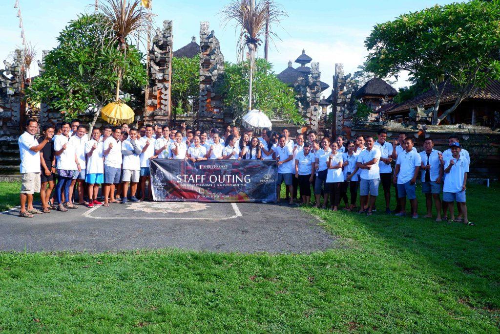 Team Building + Rafting di Ubud