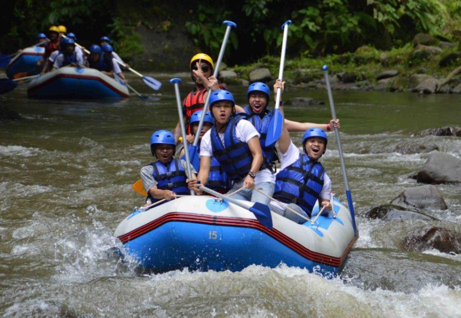 Ayung Rafting Bersama Petualangan Saya Rafting@baliraftingmurah.com